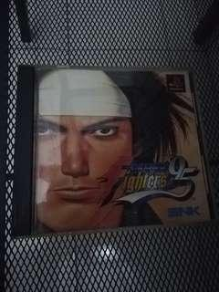 king of fighter 95 ps1 rare japan