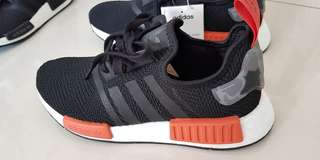 989de0ca2 Adidas NMD R1 (UK7) Black Red Camouflage Camo