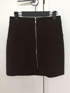 FOREVER NEW Dark khaki skirt
