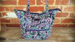 Tommy Hilfiger Tote Bag Cotton Quilted Spring Bag FREE POST