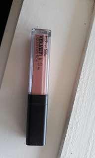 Nude pink lipstick