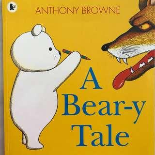 """🚚 PL """"A Bear-y Tale"""" by Anthony Browne"""