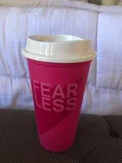 Starbucks Reusable cup pink (fearless)