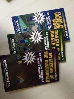 Minecraft, unoffical overworld heroes