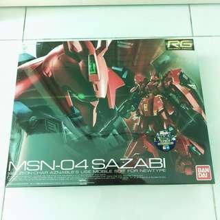 Sazabi RG Gundam 1/144 Bandai