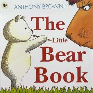 """🚚 PL """"The Little Bear Book"""" - Anthony Browne"""