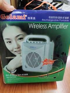 🎇❴清倉價❵ 95%新 專業無線擴音機Wireless Amplifier