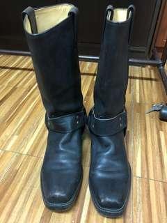 Tony Mora black boots for Men