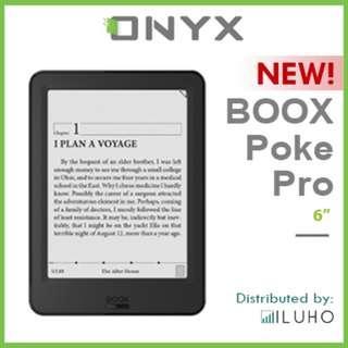 "🚚 [BNIB] NEW! ONYX BOOX Poke Pro 6"" Android E-ink Reader"