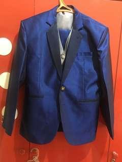 Set jas biru