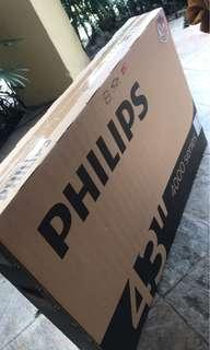 "FULL HD PHILIPS 43"" TV - NEW - 1 Year warranty"