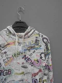 Jaket pullover WWL jepang world wide love