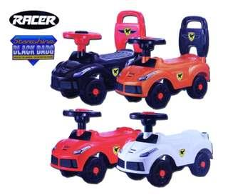 Kids push car racer toys