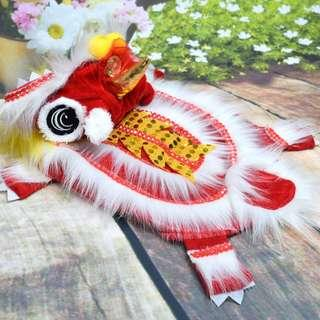 Lion Dance Outfit for Dogs & Cats