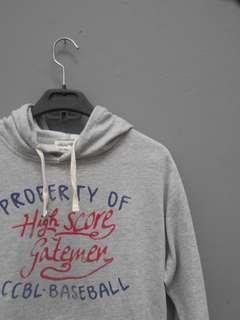 Jaket hoodie global work