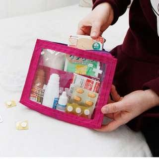 Travel Pouch Transparent Medical Bag Small Size B12903
