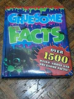 English book - Gruesome Facts