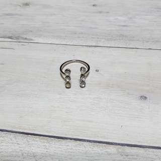 🚚 亮鑽可調式戒指