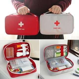 Travel Empty First Aid Kit Bag Medical Outdoor Pouch B12404