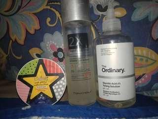 OPEN FOR SWAP Skin Care Bundle