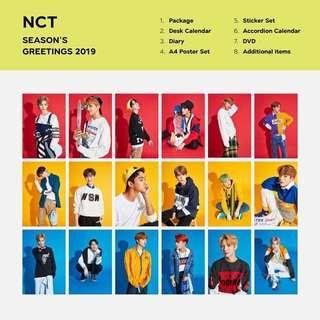 Loose Item for NCT SEASONS' GREETING 2019