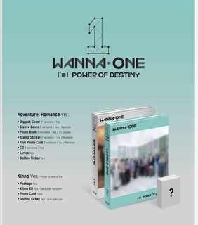 [PO] WANNA ONE POWER OF DESTINY ALBUM