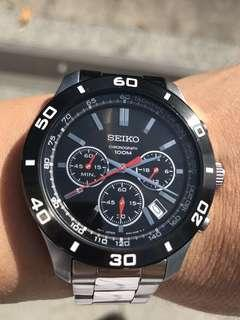 SEIKO Daytona chronograph Quartz watch
