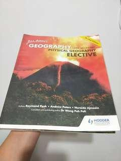 Physical Geography elective