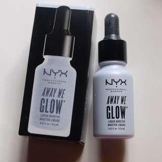 NYX AWAY WE GLOW LIQUID BOOSTER SHADE ZONED OUT