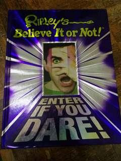 English book - Ripley's Believe It or Not! Enter If You Dare!