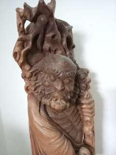 🚚 達摩木雕