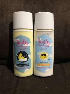 Finity day and night lotion