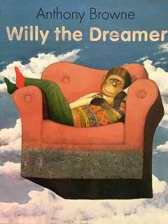"""🚚 PL """"Willy the Dreamer"""" - Anthony Browne"""