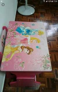 Solid wood table chair rm 60