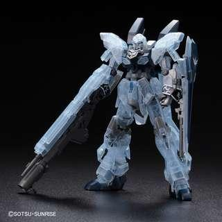 Pre-order: HG 1/144 Sinaju Stein (NARRATIVE Ver.) Clear Color