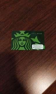 特別版香港星巴克卡 Special Edition Hong Kong Starbucks Card
