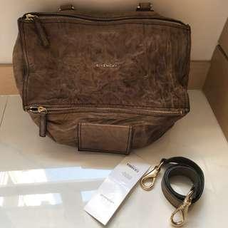 Givenchy Pandora medium Box Leather Crossbody Bag  袋 可斜孭