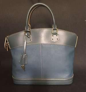 Louis Vuitton Suhali Lockit MM Bleu
