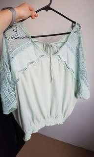 New Boho cotton blouse