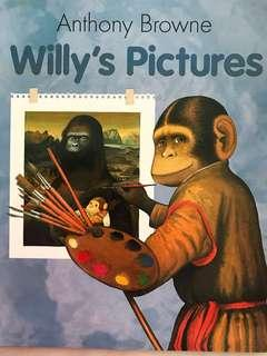 """🚚 PL """"Willy's Pictires"""" - Anthony Browne"""