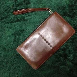 Long Brown Wallet