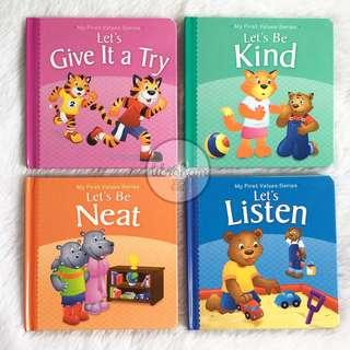Board Books - My First Values Series