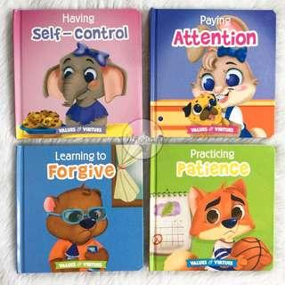 Board Books - Values and Virtues