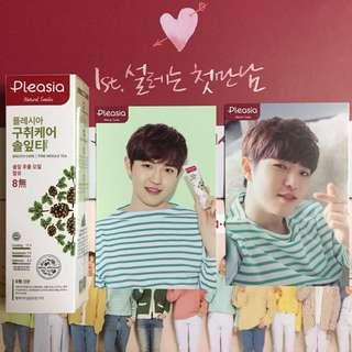 WTS 2SET Pleasia x Wanna One Kim Jaehwan