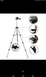 Camera DSLR Tripod Extendable (FREE PHONE HOLDER)