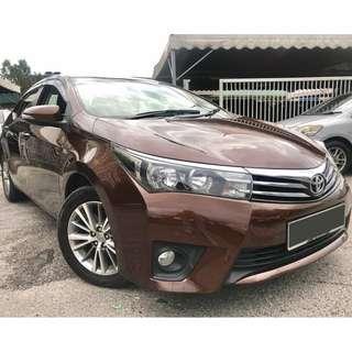 Toyota Altis 1.8 (A) 2015