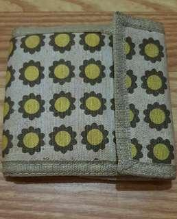 Cute Velcro Floral Wallet