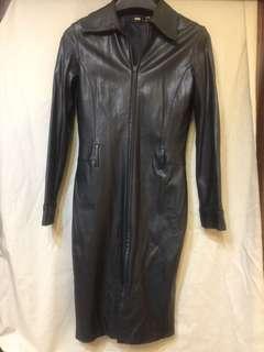 🚚 Mango皮質時尚合身外套