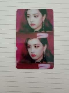 (INSTOCK) Blackpink Jisoo E-link card sticker