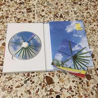 Exo - The War CD and photobook